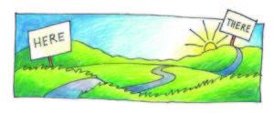 Illustration of path